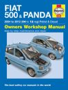 Haynes Workshop Manual Fiat 500 & Panda (04-12) 04 to 12